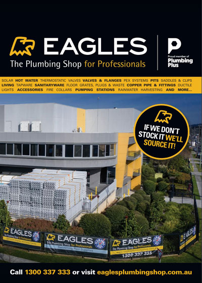 Digital brochure about Eagles The Plumbing Shop product range