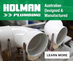 Holman Plumbing white pvc drainage pipes